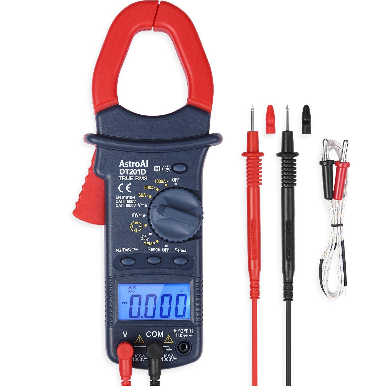 AstroAI Multimeter Resistance Continuity Temperature