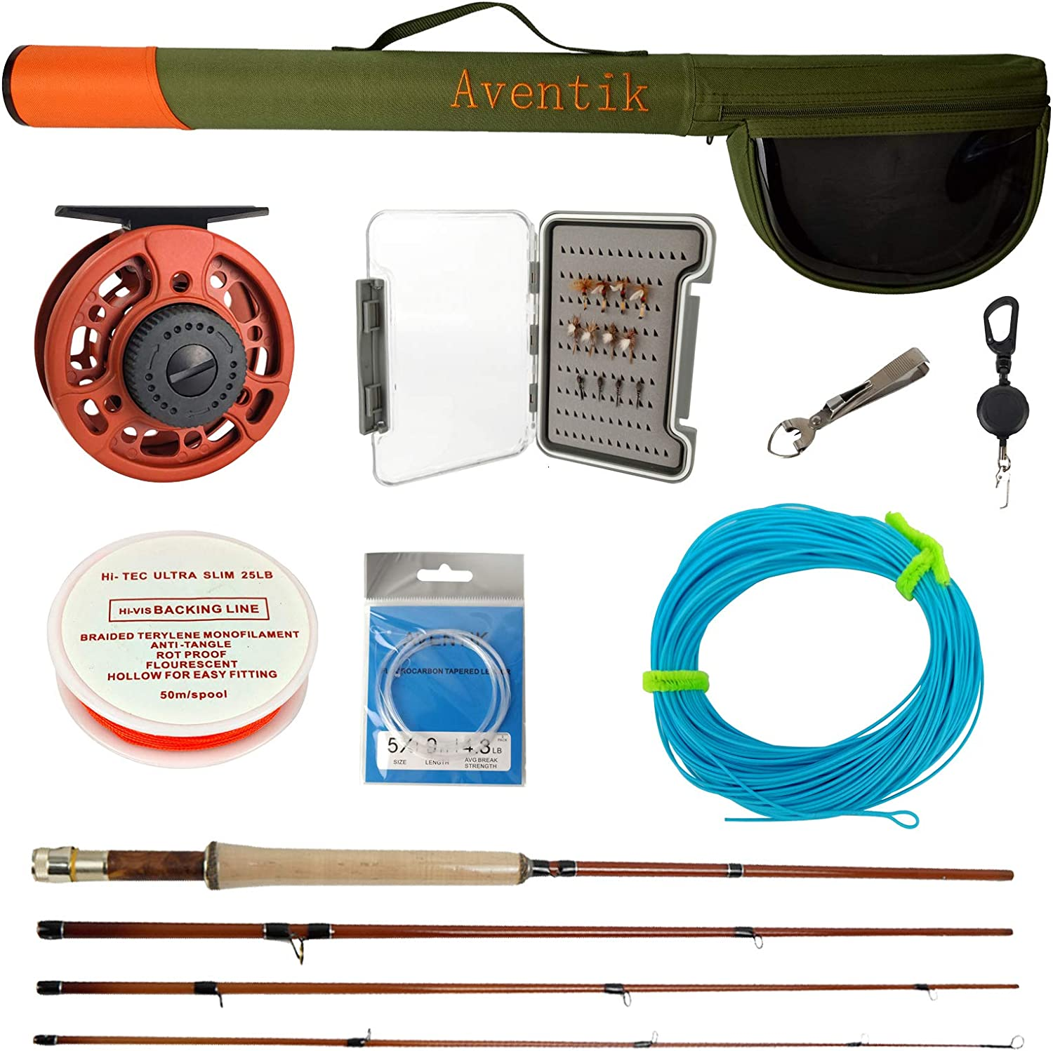 Aventik Fly Fishing 6 Different Weight Rod Houston Mall Fish Baltimore Mall Complete