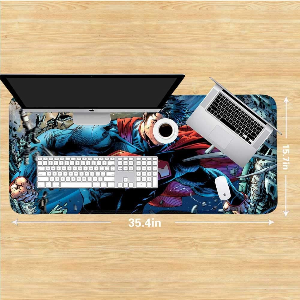 3 Mouse pad Large Superman dc Comics b1990 Personality Desings Gaming Mouse Pad