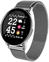 Waterdicht smartwatch, sport Smartwatch heren- en dameshorloges hartslagmeter bloeddruk voor iOS Android