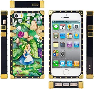 DISNEY COLLECTION Alice in Wonderland Square Edge Case for iPhone 5, iPhone 5S, iPhone SE (5.5inch)