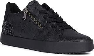 GEOX Womens Blomiee Trainers Sneakers in Black.