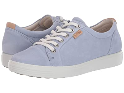 ECCO Soft 7 Sneaker (Dusty Blue) Women