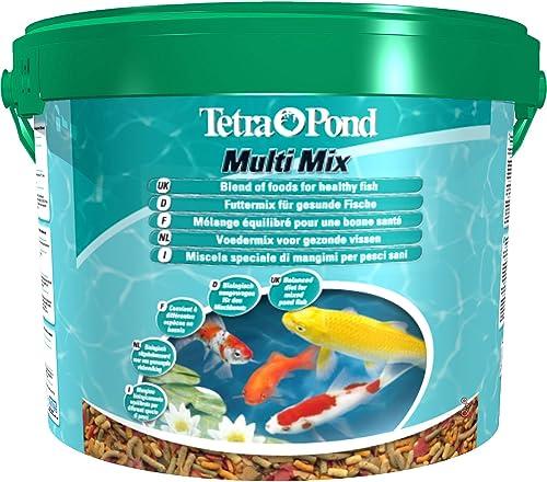 Tetra Pond Multi Mix – Alimentation Quotidienne pour Différentes Espèces de Poissons de Bassin - Mélange Complet d'Al...