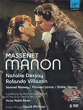 Massenet Manon Villazon Mcvica (Bilingual) [Import]