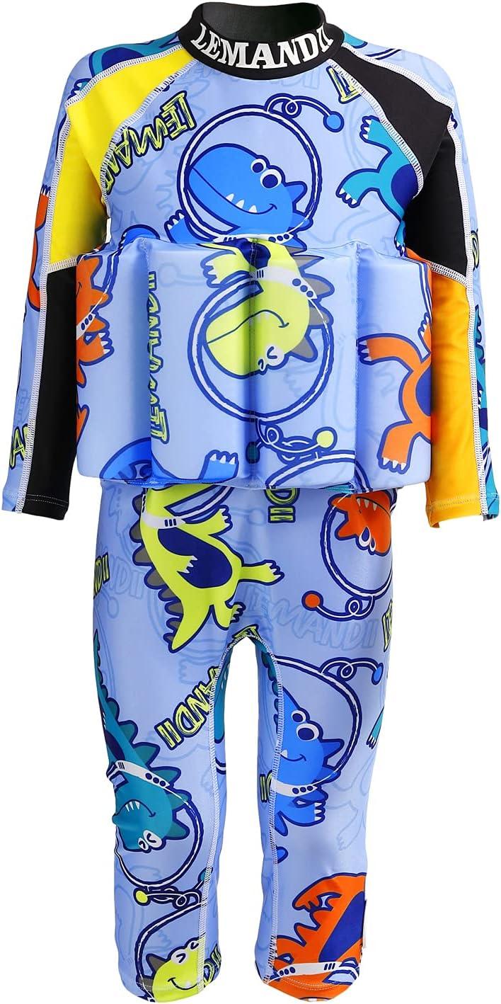 Lemandii Long Sleeve Float Swim 定番から日本未入荷 Suit スーパーセール期間限定 Boys Kids One-Piece for wit