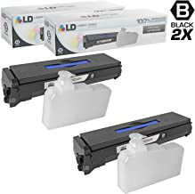 LD Compatible Toner Cartridge Replacement for Kyocera FS-C5100DN TK-542K (Black, 2-Pack)