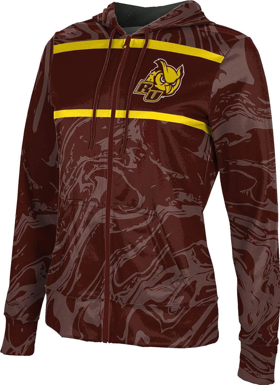 ProSphere Rowan University Girls' Zipper Hoodie, School Spirit Sweatshirt (Ripple)