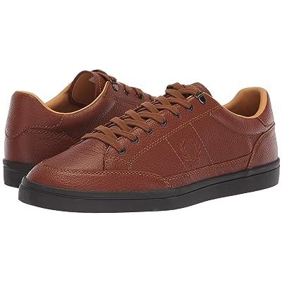 Fred Perry Deuce Premium Leather (Tan) Men