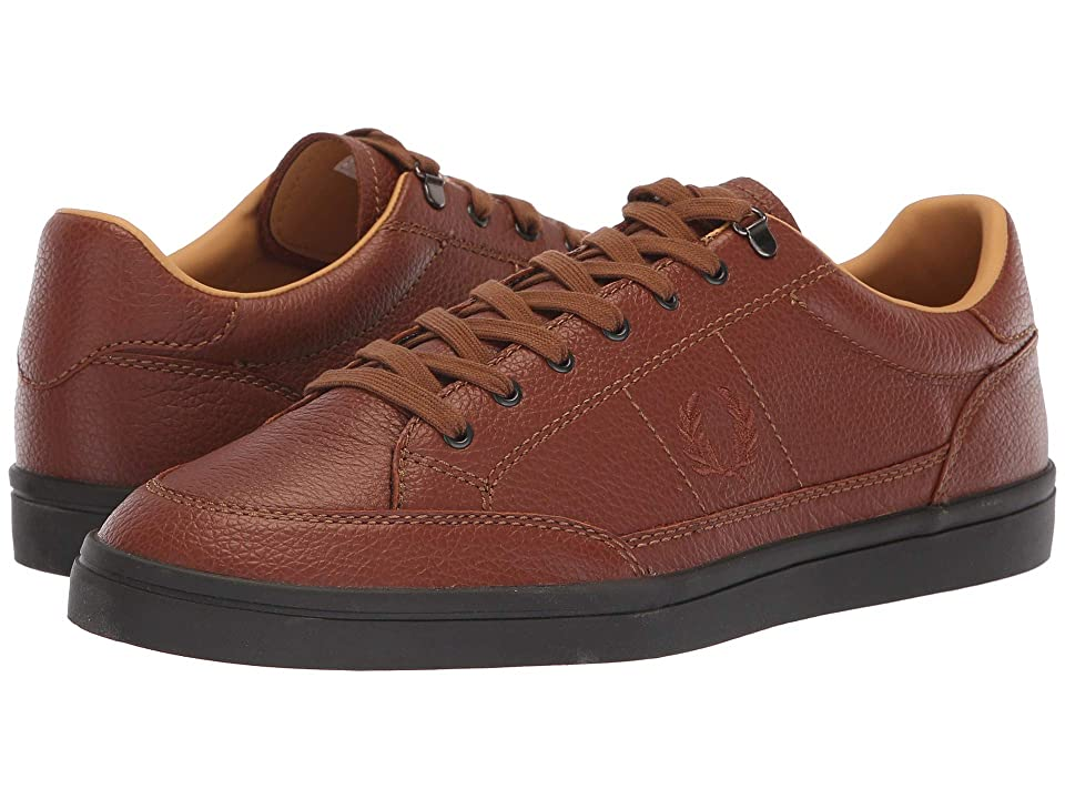 Fred Perry Deuce Premium Leather (Tan) Men