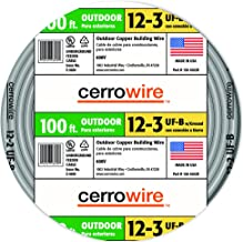 Cerrowire 138-1603CR-2 138-1603CR 12-3 UF Wire, 100-Foot,