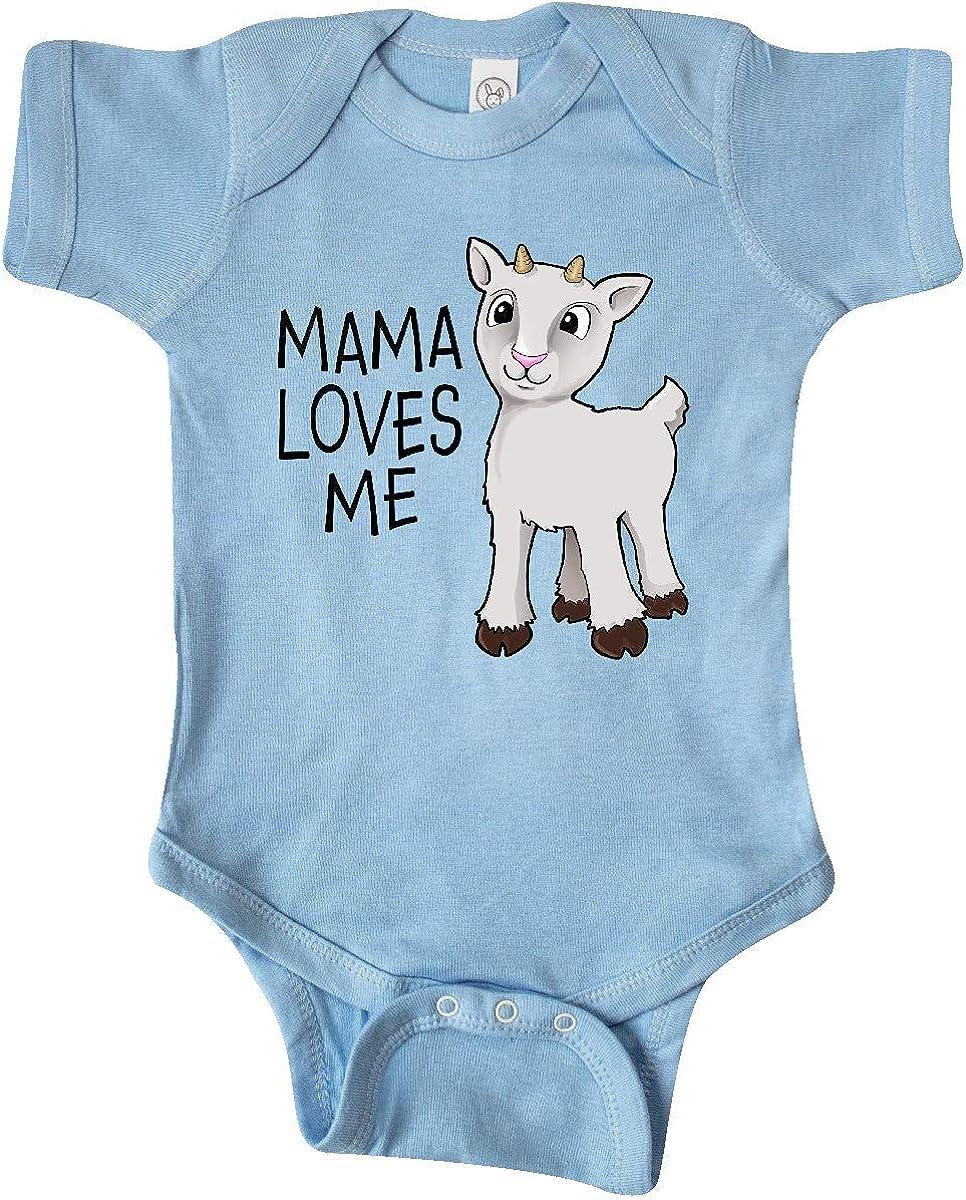 inktastic Mama Loves Me- Cute Milwaukee Trust Mall Infant Creeper Goat