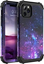 iPhone 11 Pro 2019 Case, iPhone 11 Pro Phone Case, BENTOBEN 3 in 1 Heavy Duty Rugged Shockproof Hard PC Soft Silicone Bumper Non-Slip Protective Case for iPhone 11 Pro 5.8 Inch(2019 Release), Space