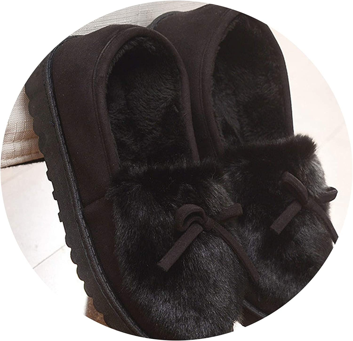 Winter Home Cotton Slippers Warm Non-Slip wear Ladies Slippers Size 35-40
