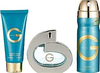 Emper Mixed Set for Women, G - Perfume, Deodorant, Cream