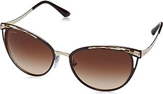 Bulgari 0BV6083 203013 56 Gafas de sol Marrón (BrownPale GoldBrowngradient) Unisex-Adulto
