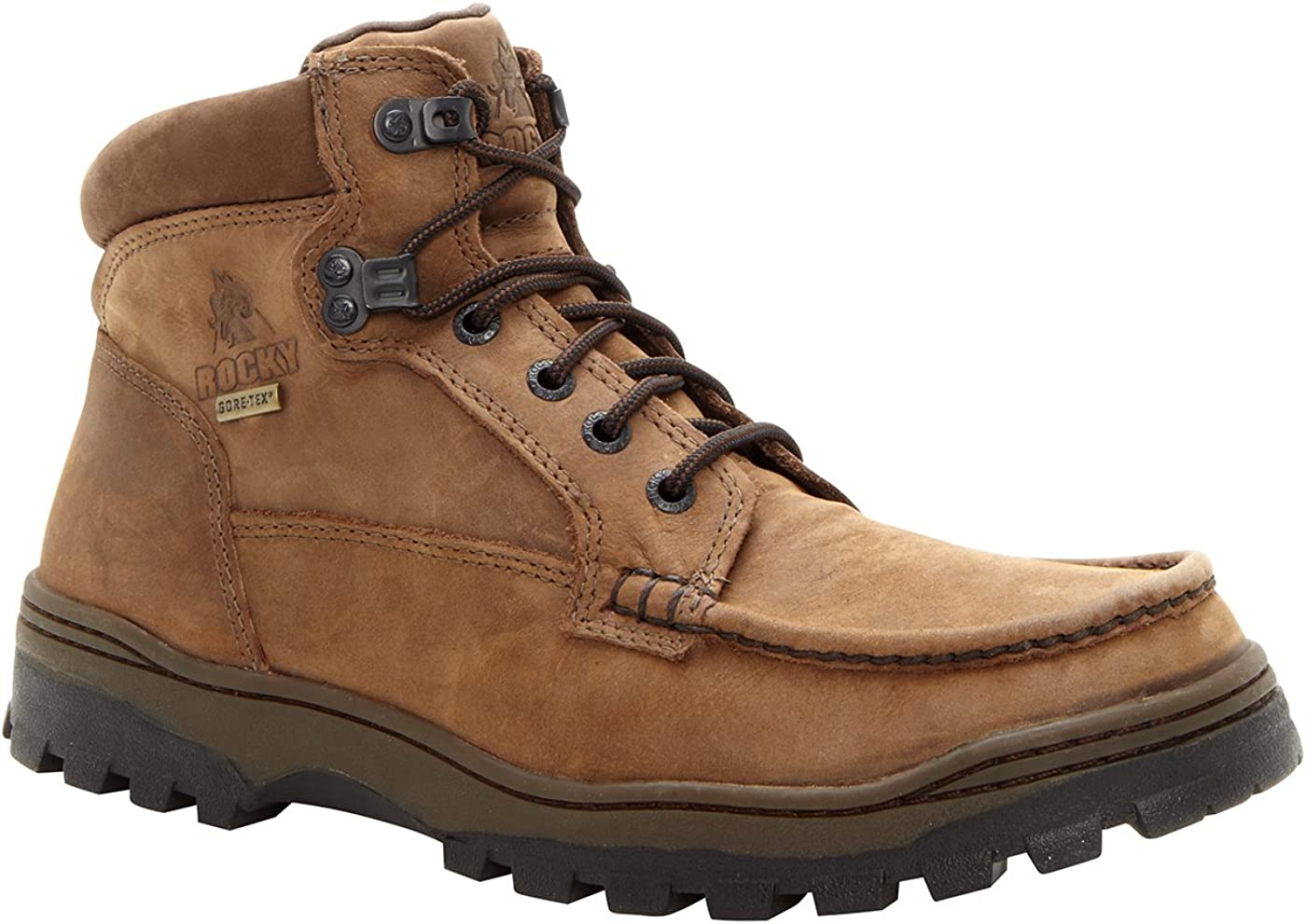 Rocky Men's Outback Gore-tex Boots-8723 New product Nippon regular agency type Moc-Toe Field WP
