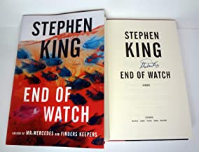 Stephen King Signed Autograph End Of Watch 1st Edition/Later Printing Book