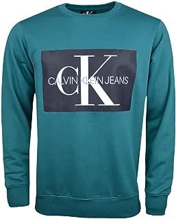 Calvin Klein Men's J30J307746-Dark Green Sweatshirts
