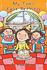 My Twins' First Birthday Hardcover