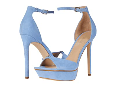 GUESS Ellsyn (Medium Blue Suede) Women