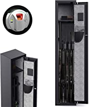 CISNO Gun Safes for Rifles and Shotguns, Biometric Rifle Gun Safes, Quick Access Gun Storage Cabinet with Handgun Holder (...