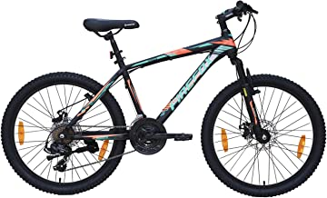 Firefox Bikes 24T -21 Speed Mountain Cycle Disc Brake Ideal for : 9-12 Years Frame Size: 14 Rider Height : 4.6 feet to 5.6...