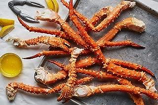 Alaskan King Crab: Giant Red King Crab Legs (8 LBS) - Overnight Shipping Monday-Thursday