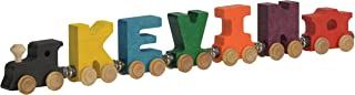 wooden train letters name