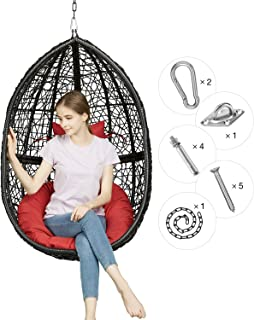 Cool Best Hanging Chair Egg Shaped Of 2019 Top Rated Reviewed Ncnpc Chair Design For Home Ncnpcorg