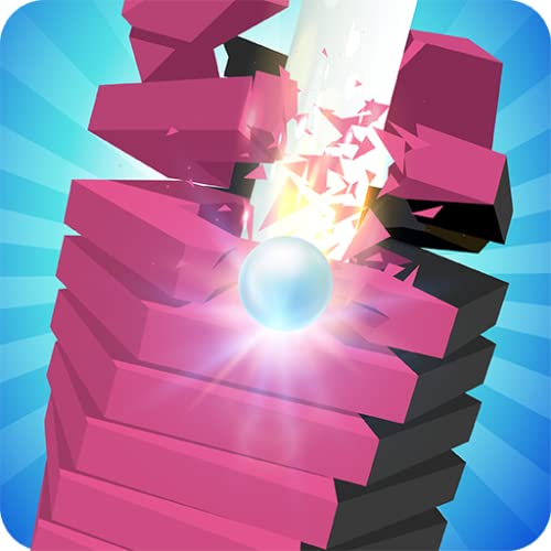 Spiral Jump Ball   Block Stack Tower Game