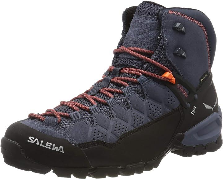 Scarponi da trekking e da escursionismo uomo salewa ms alp trainer mid gore-tex 00-0000063432
