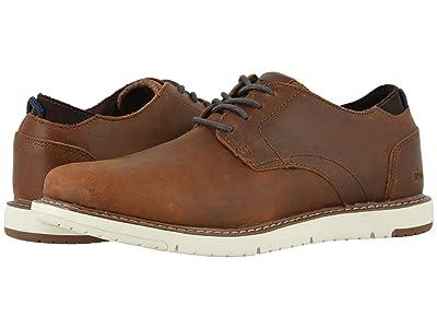 TOMS Navi Oxford (Brushwood Leather) Men