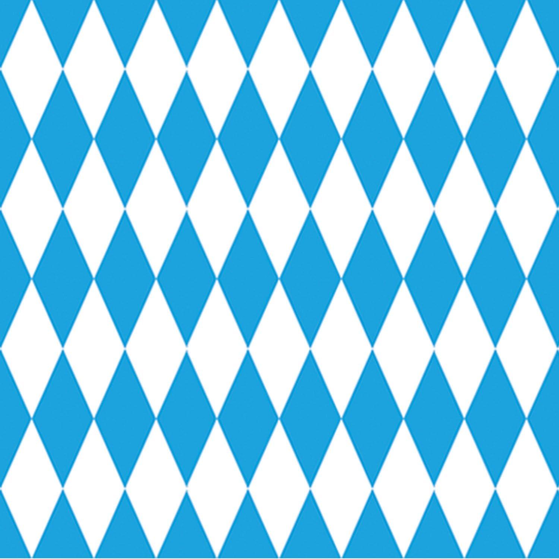 Beistle 52084 Hintergrund Für Oktoberfest 1 2 X 9 2 M Blau Weiß Küche Haushalt