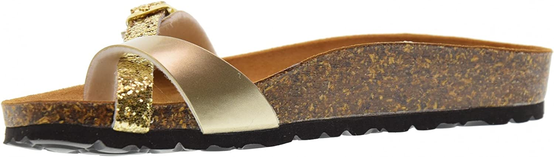 goldSTAR 1894X gold Women's Thong shoes