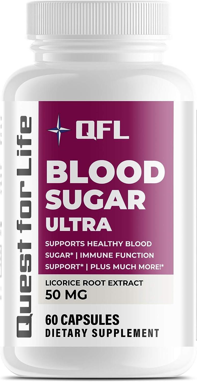 Discount mail order QFL Nutrition Blood Sugar Ultra C Vitami with Vitamin Sacramento Mall enriched