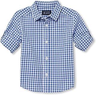 d6acd587743e Amazon.com  6-9 mo. - Button-Down   Dress Shirts   Tops  Clothing ...
