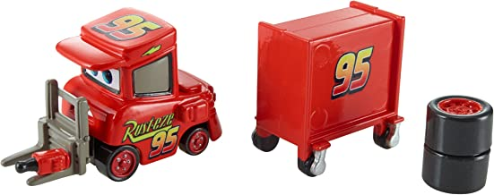 Disney/Pixar Cars, Piston Cup 2015 Series, My Name is Not Chuck with Cart Die-Cast Vehicle #17/18, 1:55 Scale
