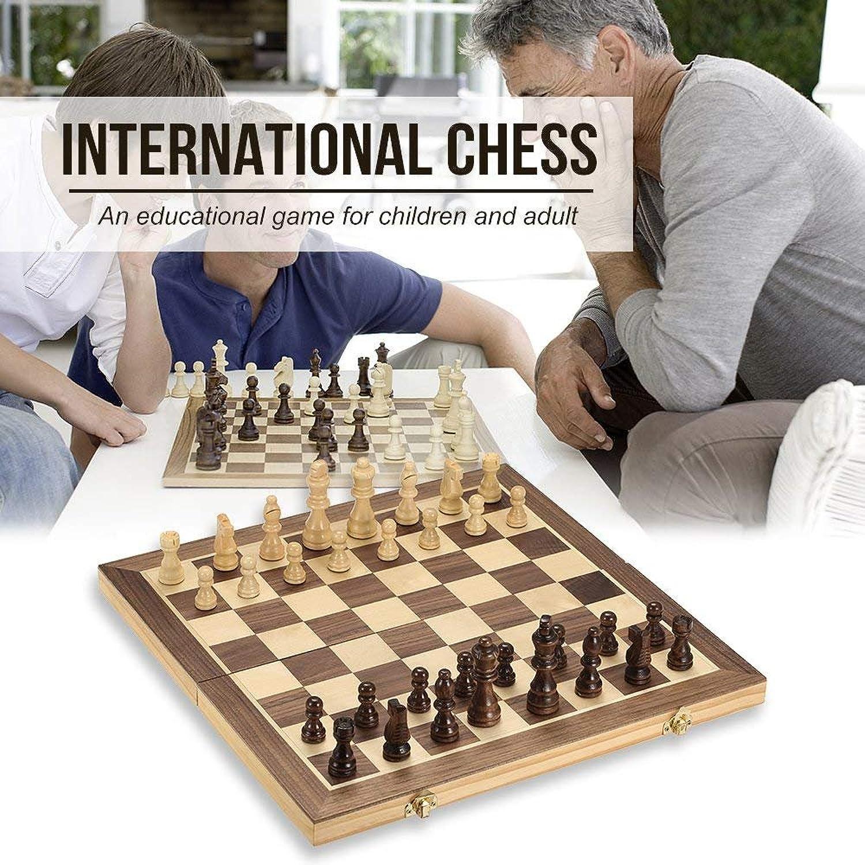 G-Tree Schach-Set Magnetic Schachfiguren faltbares Schachbrett Classic Deluxe beweglicher Brettspiel für Kinder ab 6 Jahren und Erwachsene 39 x 39 Zentimeter aus Holz B07FP3QCRP Konzentrieren Sie sich auf das Babyleben     | Zu einem niedrigeren Prei