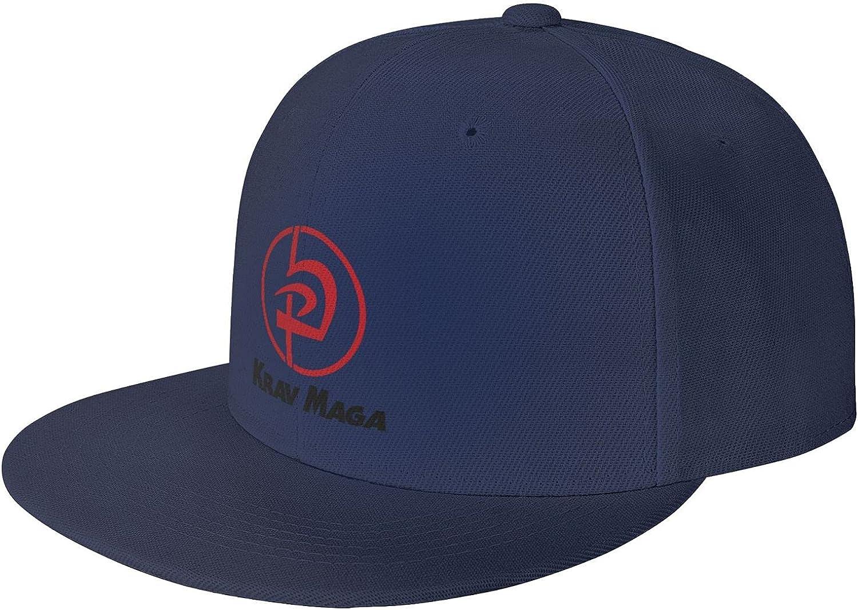 XCKFlvdfKDcv Krav Award MAGA Logo Men Ms Trust U Brim with Baseball Flat Cap
