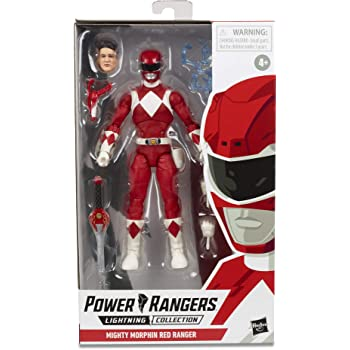 Power Rangers Ninja gota de acero y Pop saltando Ranger Rojo