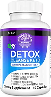 Keto Detox Cleanse, Ultra Fast Keto Boost- Pro Advanced Weight Loss- Ketogenic Diet Support - Keto Colon Cleanser , Promot...