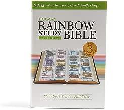 NIV Rainbow Study Bible, Jacketed Hardcover