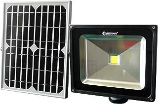 GOODGOODS LED ソーラーライト センサーライト 屋外 防水 50W 500W相当 充電式 太陽光発電 人感センサー 光センサー付き 防災 防犯 【一年保証】 TGY-50