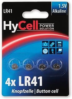 HYCELL LR41 1.5 V Alkaline Battery (Pack of 4
