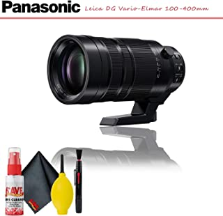 Panasonic Leica DG Vario-Elmar 100-400mm f/4-6.3 ASPH. Power O.I.S. Lens with Cleaning Kit