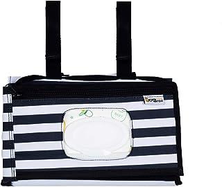 JPBroz Portable Baby Changing Mat with 3 in 1 Multi-Purpose Changing Kit Wipe Dispenser Diaper Clutch Station Folding Trav...