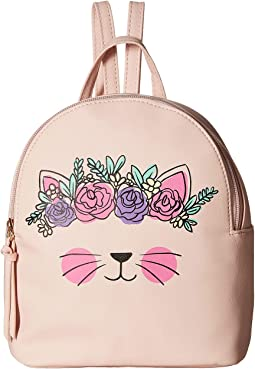 Flower Crown Cat Backpack