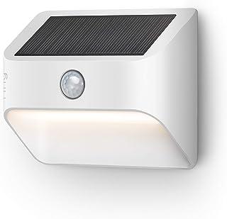 Ring Solar Steplight -- Outdoor Motion-Sensor Security Light, White (Ring Bridge required)