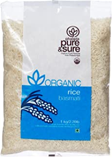 Pure and Sure Organic Basmati Rice, 1kg